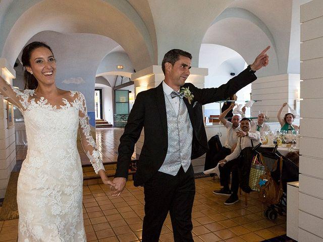 La boda de Ismael y Sara en Llafranc, Girona 78