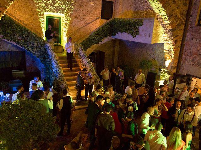 La boda de Ismael y Sara en Llafranc, Girona 88