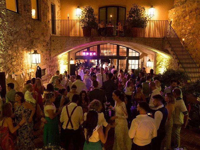 La boda de Ismael y Sara en Llafranc, Girona 89