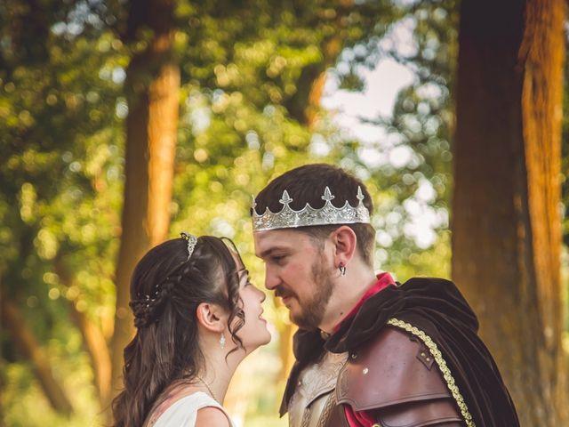 La boda de Mari Luz y Juan en Saelices, Cuenca 1
