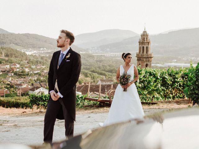 La boda de Valeria y Edu en Ribadavia, Orense 1