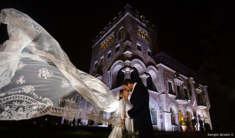 La boda de Guille y Lucia en La Manjoya, Asturias