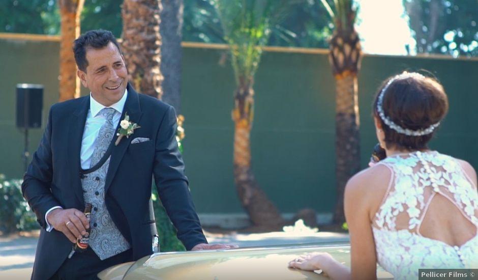 La boda de Vicente y Vanesa en Benidorm, Alicante