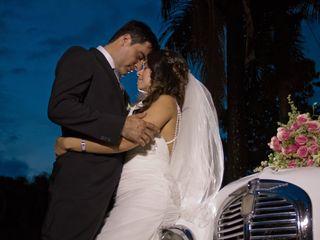 La boda de Andrea y Edwin