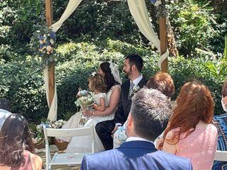 La boda de Yosune y David