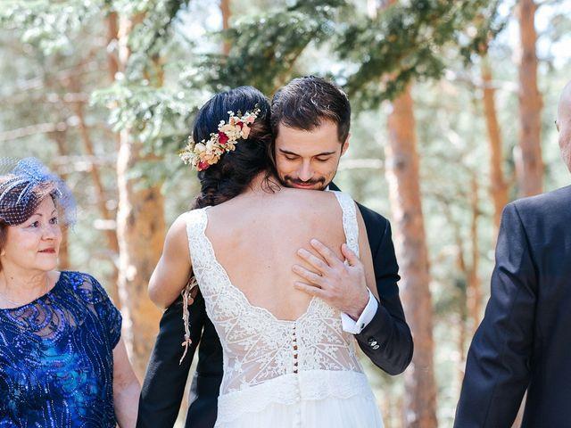 La boda de Sergio y Ylenia en Rascafria, Madrid 19