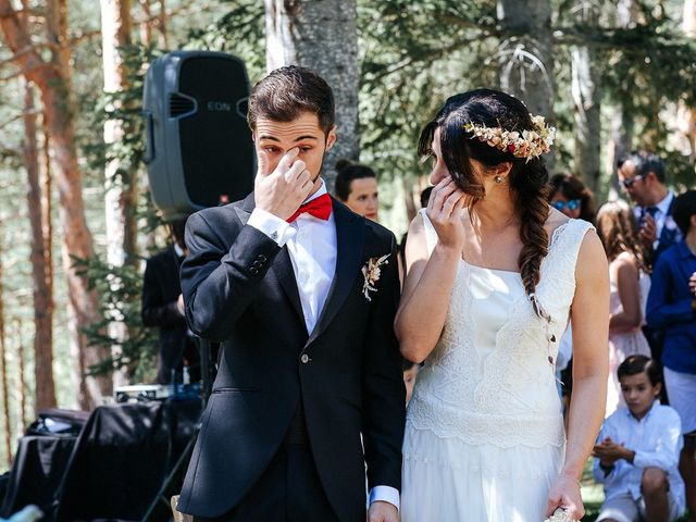 La boda de Sergio y Ylenia en Rascafria, Madrid 23