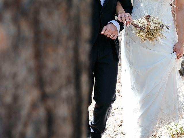 La boda de Sergio y Ylenia en Rascafria, Madrid 41