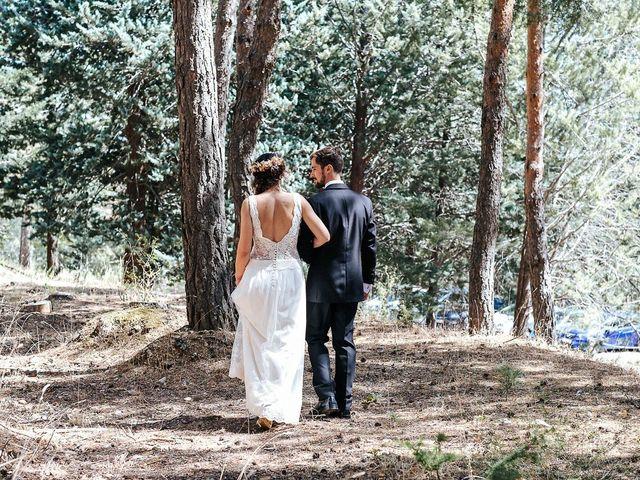 La boda de Sergio y Ylenia en Rascafria, Madrid 42