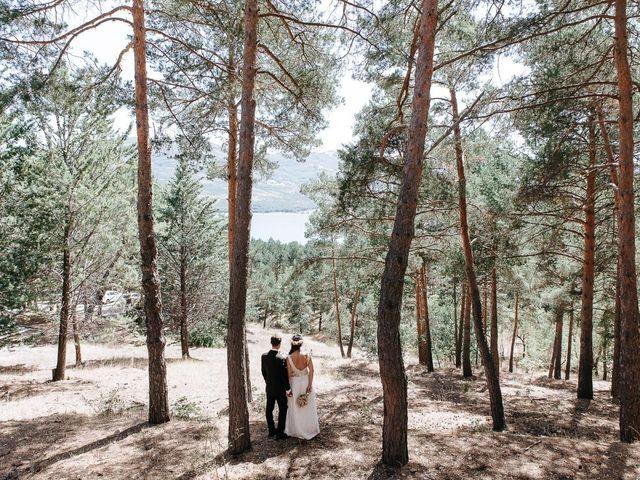 La boda de Sergio y Ylenia en Rascafria, Madrid 46