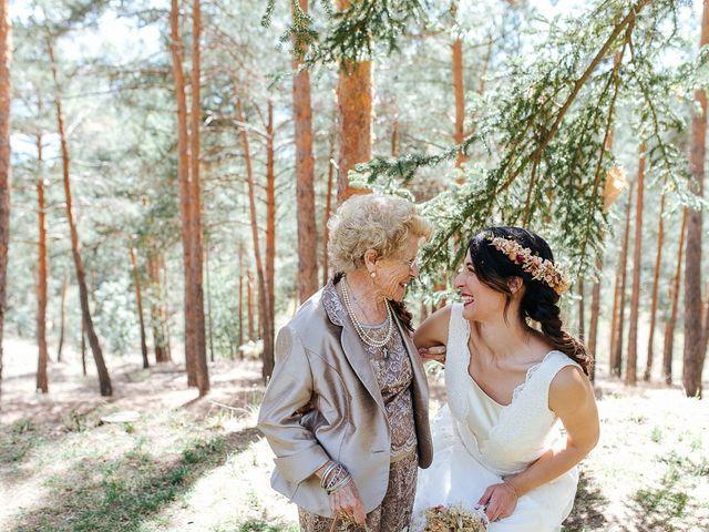 La boda de Sergio y Ylenia en Rascafria, Madrid 50