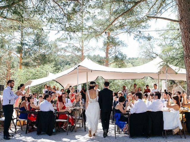 La boda de Sergio y Ylenia en Rascafria, Madrid 52