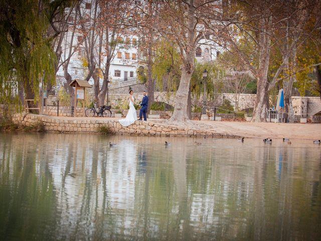 La boda de Silvia y Loren en Belmonte, Cuenca 75
