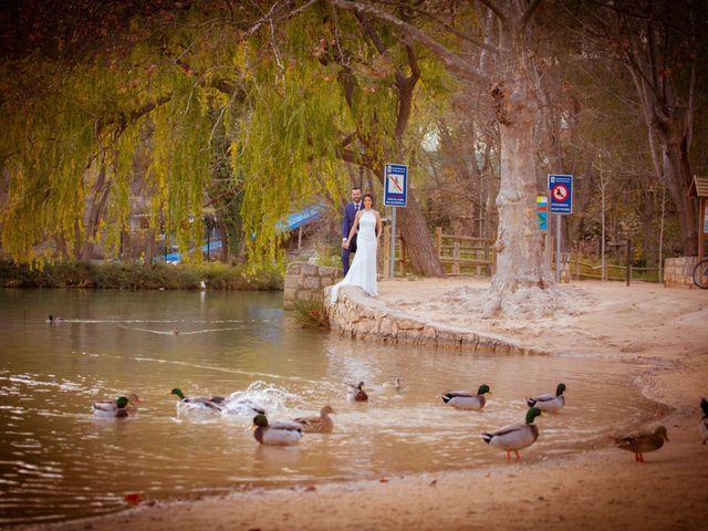 La boda de Silvia y Loren en Belmonte, Cuenca 76