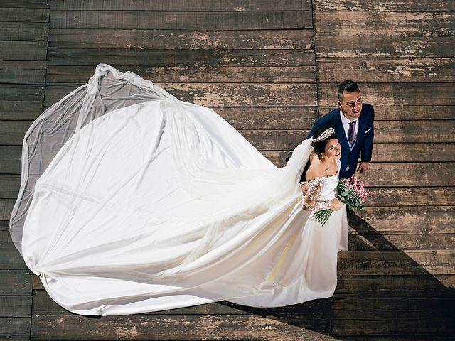La boda de Jonathan y Luz María en Lepe, Huelva 1