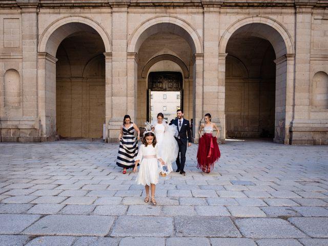 La boda de Alejandro y Belen en San Lorenzo De El Escorial, Madrid 12
