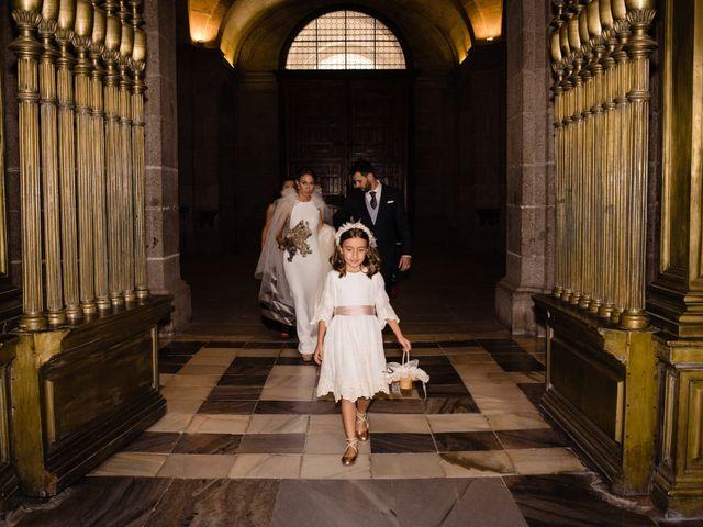 La boda de Alejandro y Belen en San Lorenzo De El Escorial, Madrid 14
