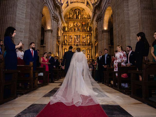 La boda de Alejandro y Belen en San Lorenzo De El Escorial, Madrid 15
