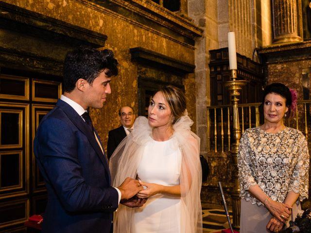 La boda de Alejandro y Belen en San Lorenzo De El Escorial, Madrid 17