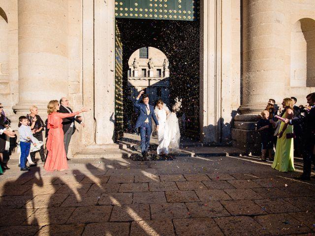 La boda de Alejandro y Belen en San Lorenzo De El Escorial, Madrid 18