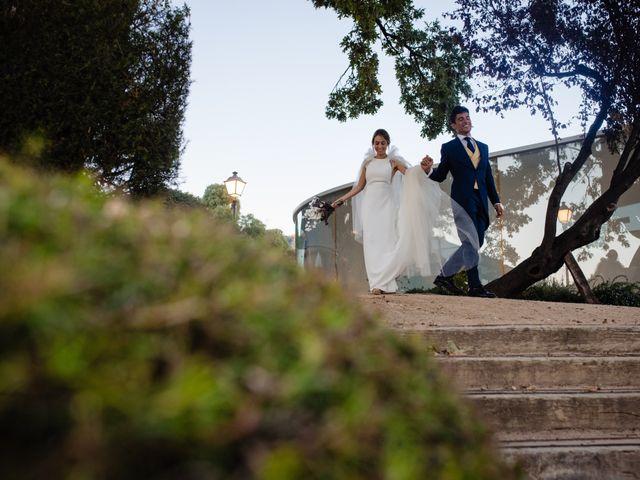 La boda de Alejandro y Belen en San Lorenzo De El Escorial, Madrid 21