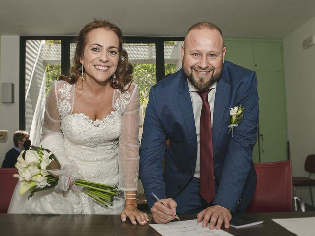 La boda de Mónica y Albert