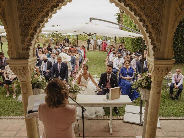La boda de Rafa y Laura en Churriana, Málaga 95