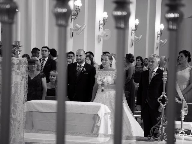 La boda de Alejandro y Carmen en Almería, Almería 17