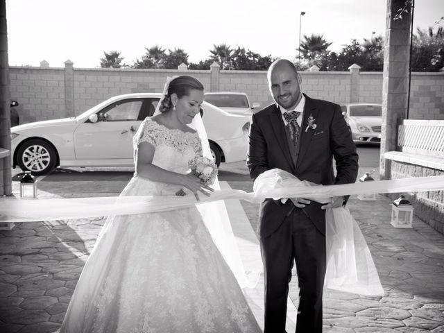 La boda de Alejandro y Carmen en Almería, Almería 31