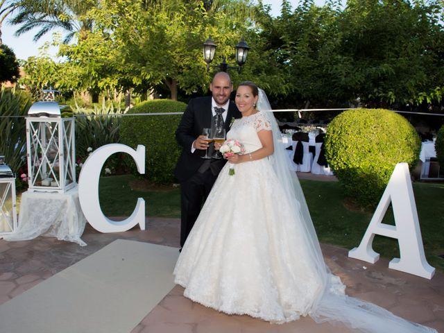 La boda de Alejandro y Carmen en Almería, Almería 34