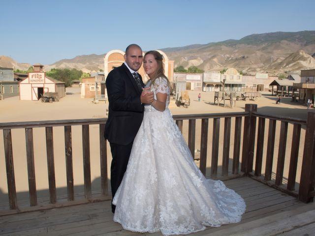 La boda de Alejandro y Carmen en Almería, Almería 48