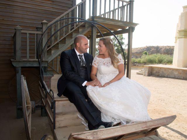 La boda de Alejandro y Carmen en Almería, Almería 49