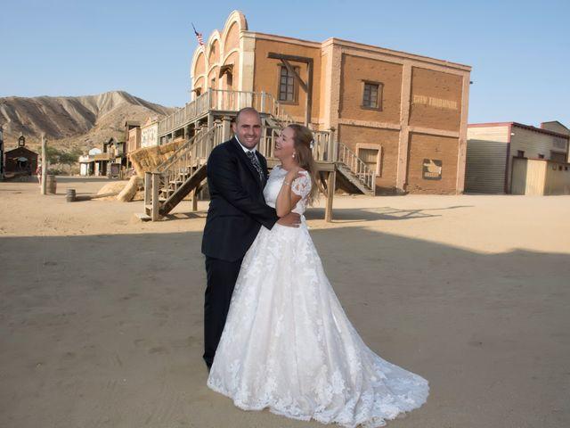La boda de Alejandro y Carmen en Almería, Almería 52