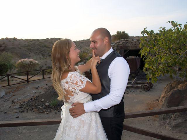 La boda de Alejandro y Carmen en Almería, Almería 64