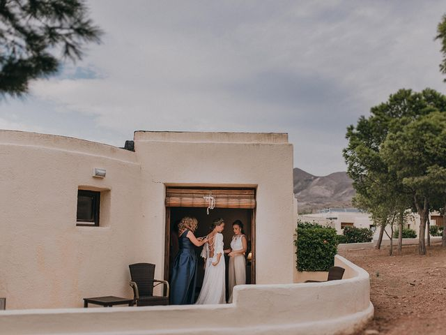 La boda de Eduardo y Elisabeth en El Cabo De Gata, Almería 19