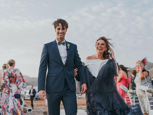 La boda de Eduardo y Elisabeth en El Cabo De Gata, Almería 40