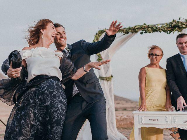 La boda de Eduardo y Elisabeth en El Cabo De Gata, Almería 41