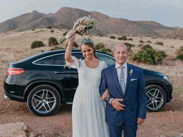 La boda de Eduardo y Elisabeth en El Cabo De Gata, Almería 42