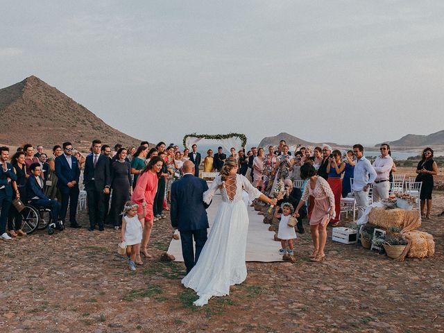 La boda de Eduardo y Elisabeth en El Cabo De Gata, Almería 45