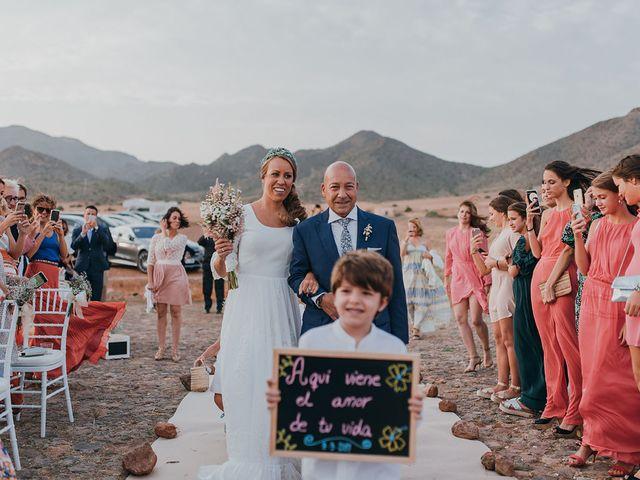 La boda de Eduardo y Elisabeth en El Cabo De Gata, Almería 46