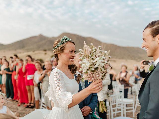 La boda de Eduardo y Elisabeth en El Cabo De Gata, Almería 47