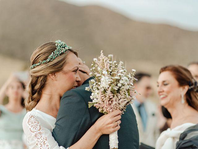 La boda de Eduardo y Elisabeth en El Cabo De Gata, Almería 48