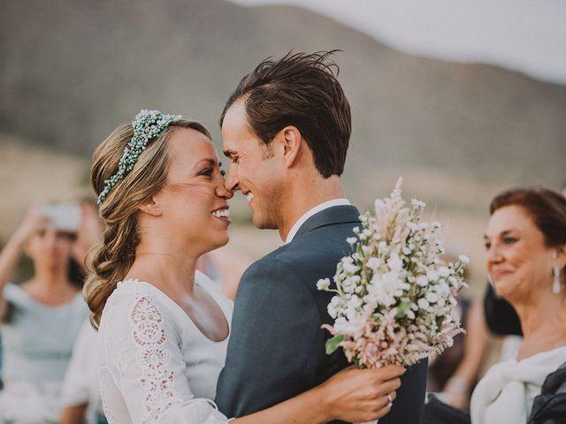 La boda de Eduardo y Elisabeth en El Cabo De Gata, Almería 51