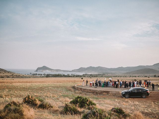 La boda de Eduardo y Elisabeth en El Cabo De Gata, Almería 50