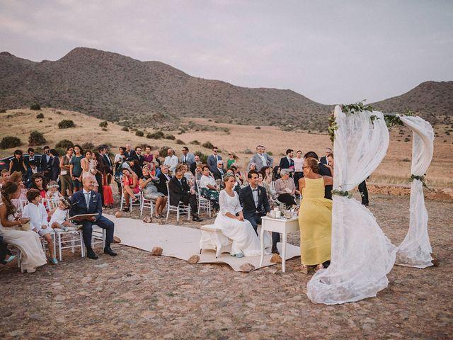 La boda de Eduardo y Elisabeth en El Cabo De Gata, Almería 61