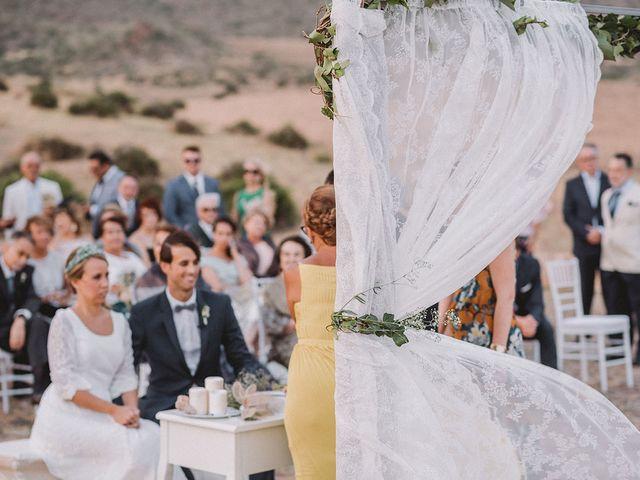 La boda de Eduardo y Elisabeth en El Cabo De Gata, Almería 62