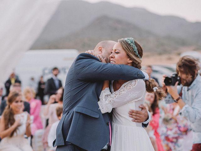 La boda de Eduardo y Elisabeth en El Cabo De Gata, Almería 63