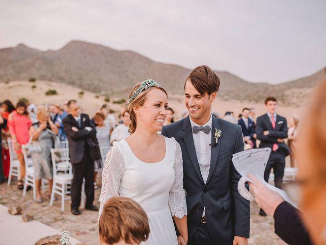 La boda de Eduardo y Elisabeth en El Cabo De Gata, Almería 68