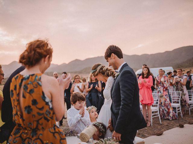 La boda de Eduardo y Elisabeth en El Cabo De Gata, Almería 69