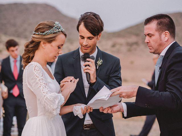 La boda de Eduardo y Elisabeth en El Cabo De Gata, Almería 70